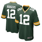 Nike Mens Aaron Rodgers Green Bay Packers NFL Jersey Size S M L XL $69.95 USD on eBay