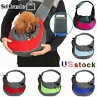 Pet Cat Carrier Puppy Dog Pouch Sling Mesh Backpack Outdoor Shoulder Chest Bag