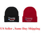 Trump 2020 MAGA Winter Knit Red Beanie Hat Make America Great Again Warm Cap