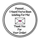 30 Thank You For Your Order 1.5 Inch Labels Round Stickers