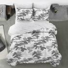 Heritage Club Gray Camouflage Bed in a Bag, Gray/ White Multiple Sizes