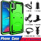 For Cell Phone Hybrid Rugged Armor Shockproof Protective Case Cover + Accessory