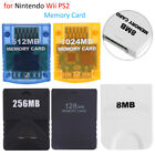 16MB/128MB/512MB Memory Card for Nintendo GameCube Wii Sony PlayStation 2 PS-2