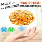 Within arm's reach Flying UFO Ball LED Mini Induction Quadcopter RC Aircraft Drone Toys Gifts