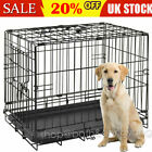 Small Medium Large XL XXL Pet Dog Cage Crate Foldable Carry Transport Carrier ❤