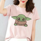 New Baby Yoda Mandalorian Summer Women's T-Shirt Harajuku Funny Star Wars Tops $4.98 USD on eBay