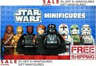 Lego Star Wars Minifigures 300+ Yoda Mandalorian Luke Darth Vader Kylo Ren Clone $2.49 USD on eBay