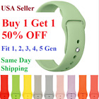 Silicone Strap Band for Apple Watch Sports Series 5/4/3/2/1 38mm 40mm 42mm 44mm image