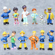 Fireman Sam Toys Cake Toppers Decoration Kids Birthday Present Party Bag