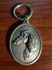 Metal Dog and Cat Breed Silhouette Keychain
