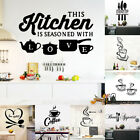 Coffee Cup Love Heart Wall Sticker Kitchen Removable Diy Decal Poster Home Decor