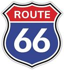 Route 66 8 States Sign Vinyl Sticker Decal Car Window Wall Door Sizes