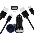 Wall Car Charger USB-C Cable for Samsung Galaxy S10 G5 S9 S8 Plus A50 A70 Active