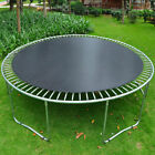 Round Trampoline Mat Spare Parts Replacement for 13 14 15' Frame with V-Rings US image