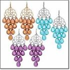 Avon Fall into Color Chandelier Earrings