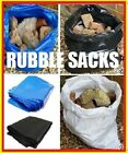 Tough Builders Rubble Sack Black or Blue Plastic or White Woven WPP