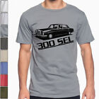 Mercedes W109 300 SEL SOFT Cotton T-Shirt Multi Colors & Sizes Amg W108 image
