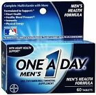 One A Day Mens Health Formula Tablets 60ct Factory Sealed Free Shipping $7.49 USD on eBay