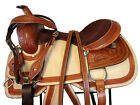 ROPING SADDLE WESTERN HORSE 15 16 PLEASURE WORKING HORSE TACK RANCHER REINING