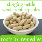 Stinging Nettle Whole Root Capsules- 300mg - Premium Quality & Pure. 5/30/60/120