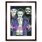 Unholy Trinity Joker Batman W.Maguire Framed Wall Art Print 9X7 In