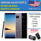 Samsung Galaxy Note 8 - 64GB- UNLOCKED (CDMA + GSM) Verizon AT&T T-Mobile Sprint