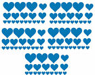 Big Pack Of 95 Vinyl Hearts Stickers Car Bike Scooter Helmet Decal Graphic Lapto