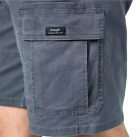 Men's Wrangler Flex Cargo Shorts Relaxed Fit Tech Pocket Gray ALL SIZES UP TO 52