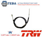 2x TRW REAR HANDBRAKE CABLE PAIR GCH663 P NEW OE REPLACEMENT