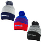 2020 TaylorMade Mens Bobble Beanie Hat New  3 Colour Options