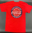 Drink Coca Cola Coke Logo Red Men T-Shirt Crew Neck Thrist Quenching Tee $12.0  on eBay
