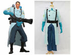 Hot! Team Fortress 2 Medic Blue Cosplay Costume HH.71
