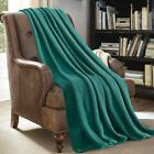 Super Soft Light Weight Coral Fleece Warm Throw Blanket for Couch/Sofa/Bed/Chair