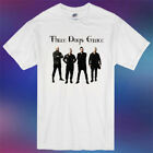 Three Days Grace Band Personels Tour Poster Logo Men's White T-Shirt Size S-3XL image