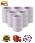 6-18 Rolls Clear Packing Packaging Carton Sealing Tape 2 x 54 Yards Tape Us New