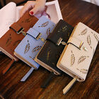 Women Clutch Leather Wallet Long Card Holder Phone Bag Case Purse lady Handbags image