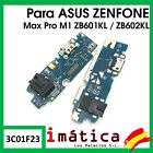 Plate Load ASUS Zenfone Max Pro M1 Flex Antenna Microphone Headset Connector USB