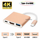 USB Type C to HDMI 1080P 4K HD TV Cable Adapter For Android Phones Samsung LG US