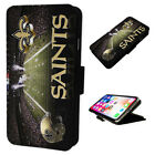 New Orleans Saints Stadium Flip Phone Case Wallet Cover - Fits Iphone $15.35 USD on eBay