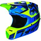 Fox Racing Youth Divizion Blue/Green Helmet