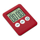 Slim Magnetic LCD Digital Kitchen Timer Count Down Cooking Clock Alarm Stopwatch