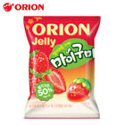 ORION My gummy 66g STRAWBERRY Juice Jelly Rich Flavor Fruit Chewy Dessert Snack