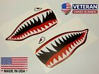 WWII Flying Tiger Warhawk P-40 Stickers Decals Shark Mouth US Air Force