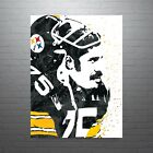 Mean Joe Greene Pittsburgh Steelers Poster FREE US SHIPPING $14.99 USD on eBay