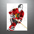 Bobby Hull Chicago Blackhawks Poster FREE US SHIPPING $14.99 USD on eBay