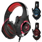 Beexcellent Stereo Bass Surround Gaming Headset for PS4 New Xbox One PC Mic AU
