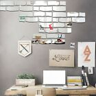 Diy Removable Home Mirror Wall Stickers Decal Art Vinyl Room Decor Fw