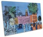 Raoul Dufy Casino Palm Trees CANVAS WALL ART Picture Print