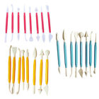 Kids Clay Sculpture Tools Fimo Polymer Clay Tool 8 Piece Set Gift for Kids IDOKH image