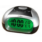 Talking Alarm LCD Clock with Temperature, Reflex for the Blind Partially Sighted